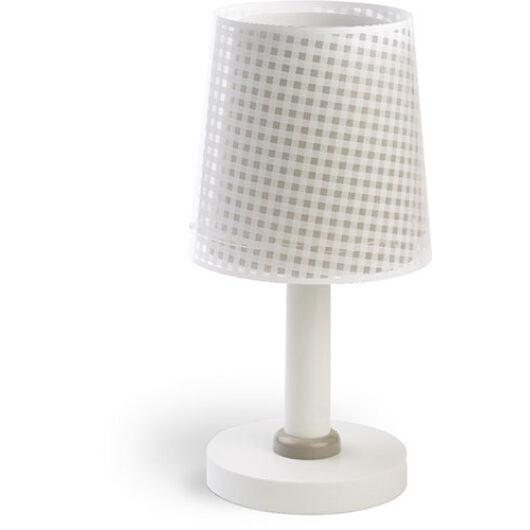 Dalber gyereklámpa - 'vichy' bézs asztali lámpa