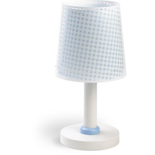Dalber gyereklámpa - 'vichy' kék asztali lámpa