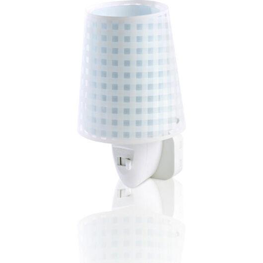 Dalber gyereklámpa - 'vichy' kék éjszakai lámpa