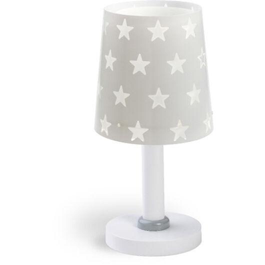 Dalber gyereklámpa - 'stars' szürke asztali lámpa