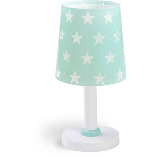 Dalber gyereklámpa - 'stars' zöld asztali lámpa