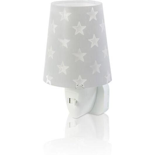 Dalber gyereklámpa - 'stars' szürke éjszakai lámpa
