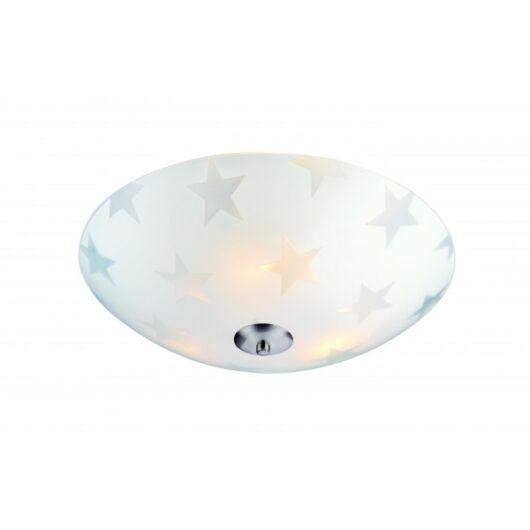 MARKSLÖJD STAR LED mennyezeti 35cm Matt/matt króm