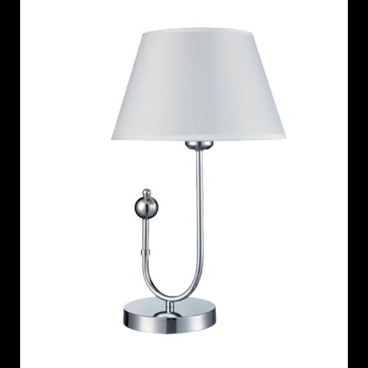 CARMEN asztali lámpa fehér/króm
