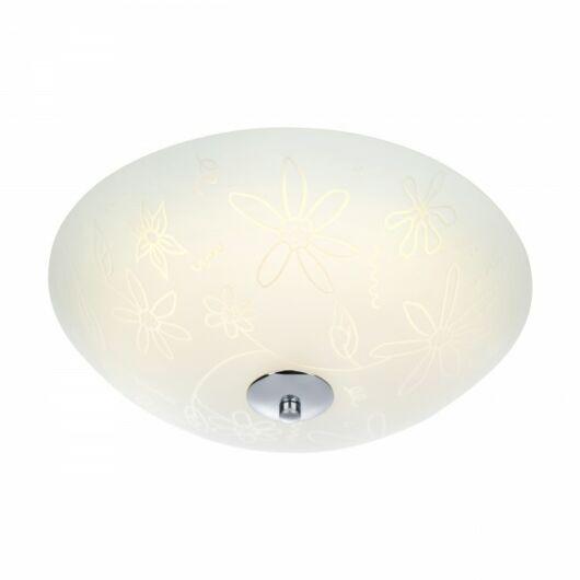 MARKSLÖJD FLEUR mennyezeti LED 35 cm fehér/króm