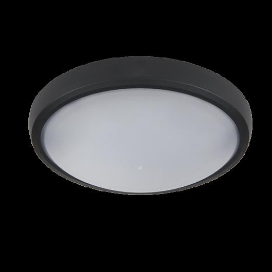BRLED kültéri LED lámpa 6W fekete ovális