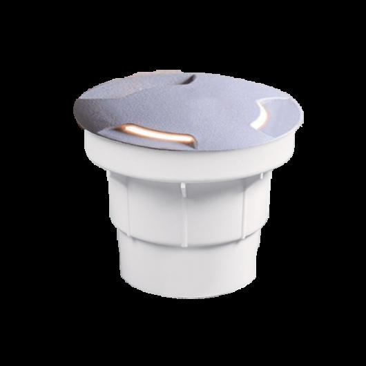 ALDO 2L LED talajba süllyeszthető lámpa 1.7W szürke