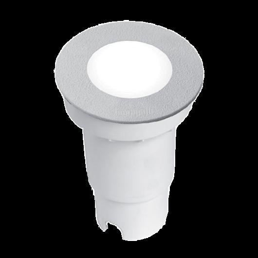CECI 90 LED talajba süllyeszthető lámpa 3.5W 4000K IP67 szürke