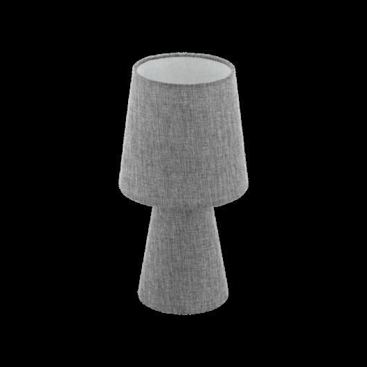 CARPARA szürke textil asztali lámpa szürke 340