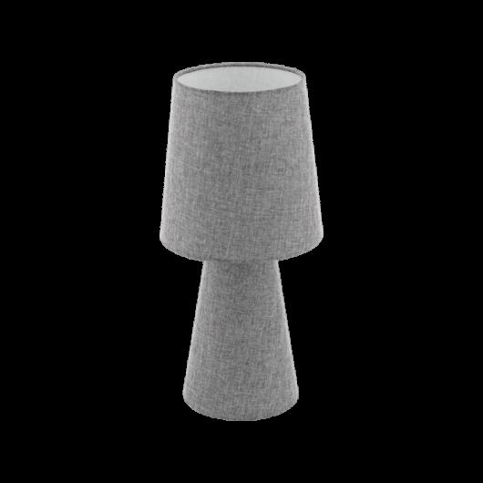 CARPARA szürke textil asztali lámpa szürke 470