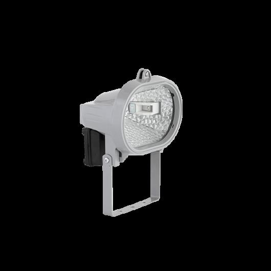LED-es fényvető, halogén tipusú LED izzóval J78 5,5W szürke