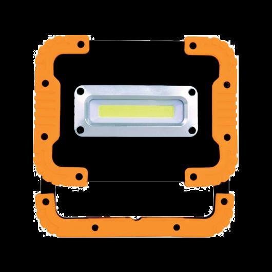 LED hordozható reflektor 10W akkumlátorral és töltővel