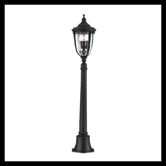 ELSTEAD English Bridle 3Lt (közepes méretű) Állólámpa fekete