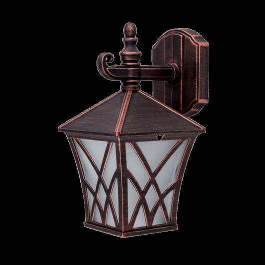 ALEK 302 kültéri fali lámpa, 1xE27 antik réz