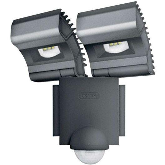 LK/OSRAM NOXLITE LED SPOT 2x8W mozgásérzékelõvel szürke