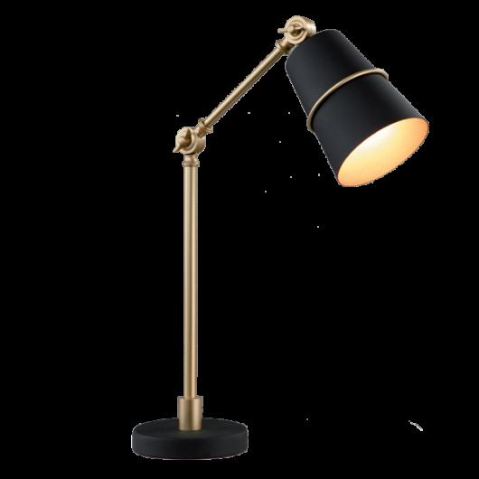 """Asztali lámpa """"SPIDER""""  arany-fekete"""