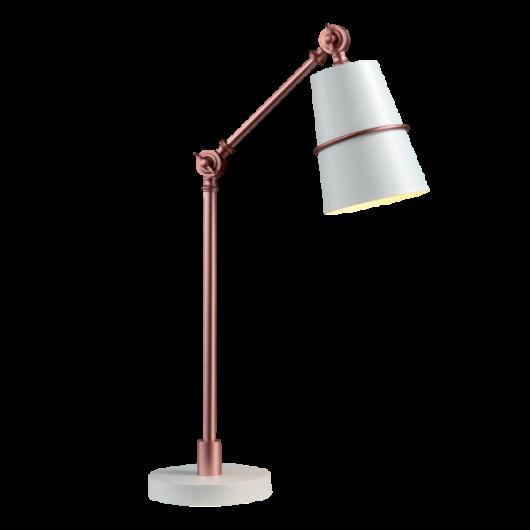 """Asztali lámpa """"SPIDER"""" fehér-réz"""