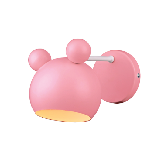 MICKEY PINK Fali lámpa