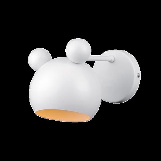 MICKEY WHITE Fali lámpa