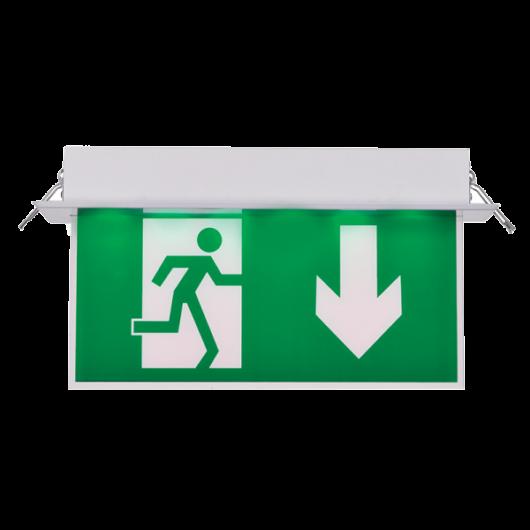 Lefelé mutató kijáratjelző
