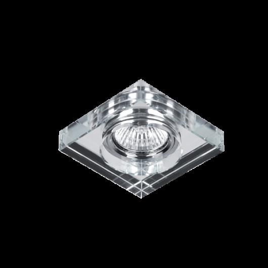 Négyzet alakú spotlámpa üveg