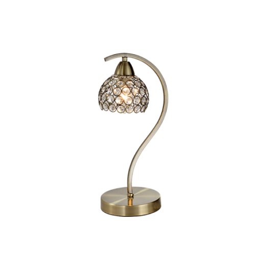 """Asztali lámpa """"LIZA"""" antik bronz"""