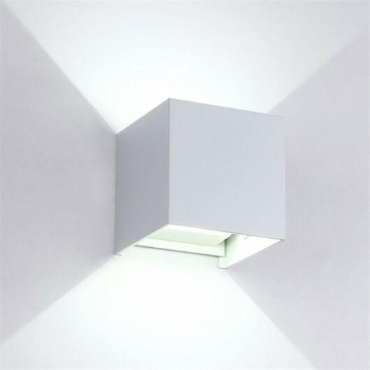 Szögletes LED fali lámpa IP54