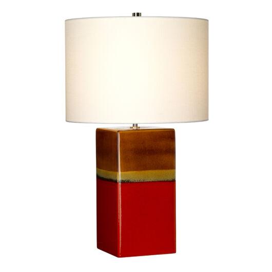 ELSTEAD Alba Asztali lámpa piros
