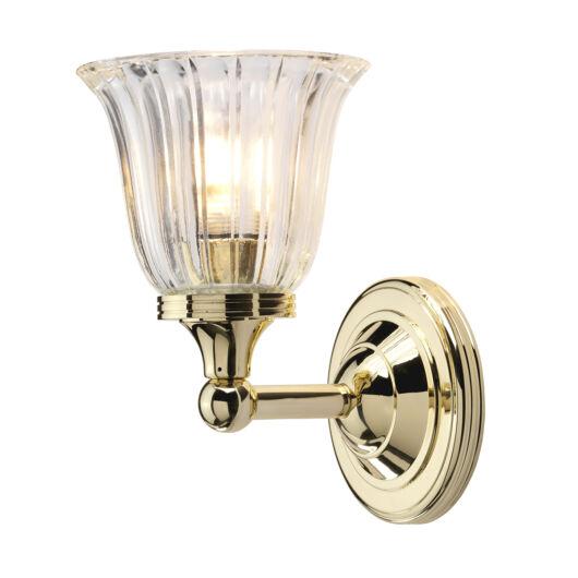 ELSTEAD Austen1 csiszolt bronz fürdőszobai fali lámpa