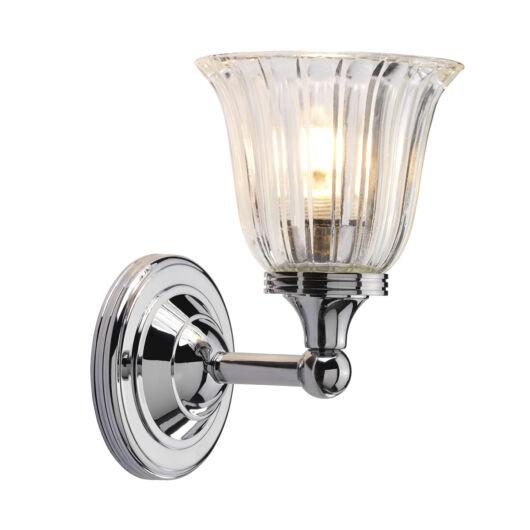ELSTEAD Bathroom Austen1 csiszolt króm fürdőszobai fali lámpa