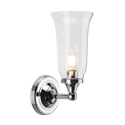 ELSTEAD Bathroom Austen2 csiszolt króm fürdőszobai fali lámpa
