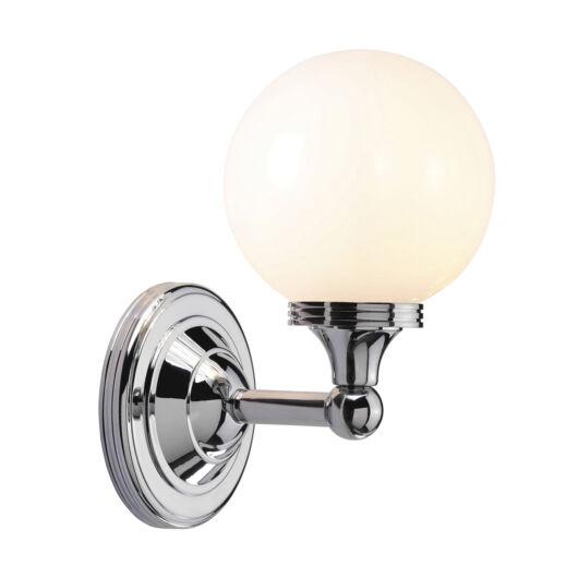 ELSTEAD Bathroom Austen4 csiszolt króm fürdőszobai fali lámpa