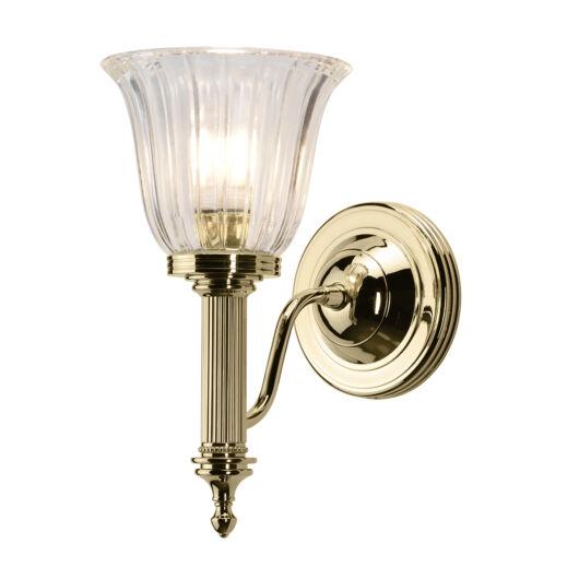 ELSTEAD Carroll1 fürdőszobai  fali lámpa sárgaréz