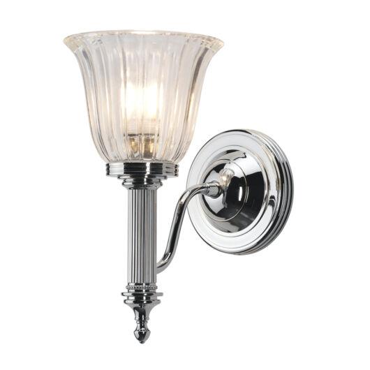 ELSTEAD Carroll1 fürdőszobai  fali lámpa csiszolt króm