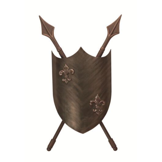 ELSTEAD Crusader 2lt fali lámpa