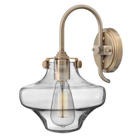 Elstead CONGRESS fali lámpa barna 330 mm