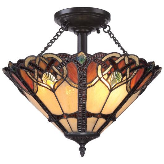 Elstead CAMBRIDGE mennyezeti lámpa bronz