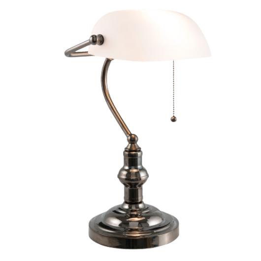 Filamentled Tiffany W bankár lámpa