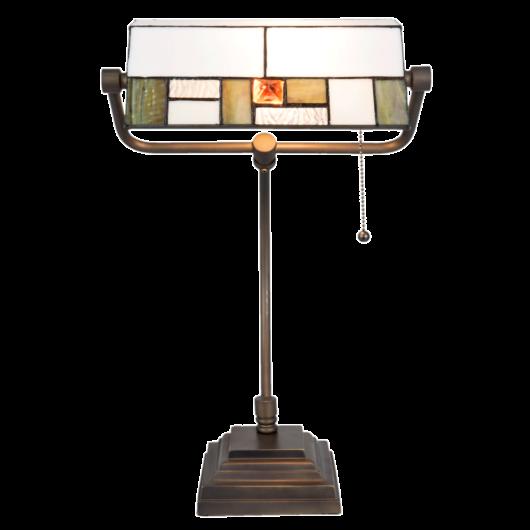 Filamentled Knocks Tiffany bankár lámpa
