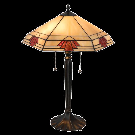 Filamentled Dunkeld Tiffany asztali lámpa