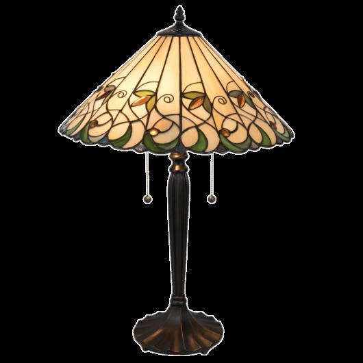 Filamentled Luca Tiffany asztali lámpa
