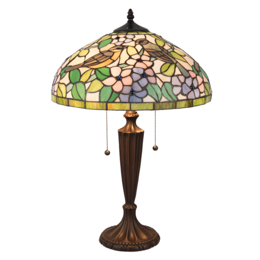 Filamentled Selby Tiffany asztali lámpa