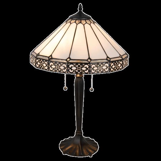 Filamentled Kendal Tiffany asztali lámpa