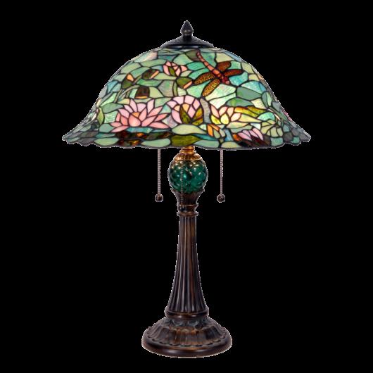 Filamentled Stow Tiffany asztali lámpa