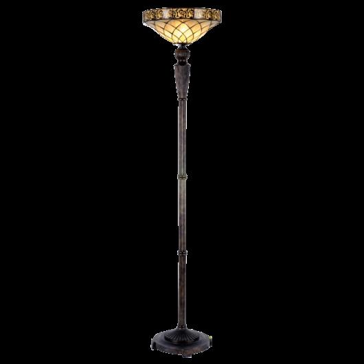 Filamentled Colchester Tiffany álló lámpa