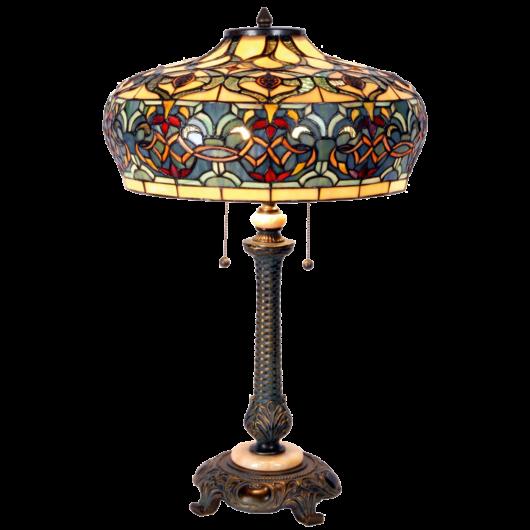 Filamentled Branxton Tiffany asztali lámpa