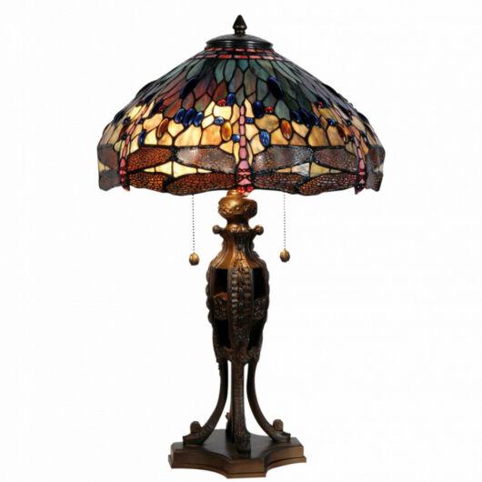Filamentled Dragonfly Tiffany asztali lámpa (2)