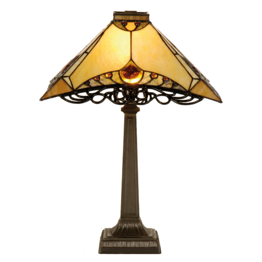 Filamentled Pitcox Tiffany asztali lámpa