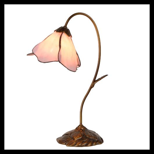 Filamentled Roslin Tiffany asztali lámpa