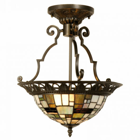 Filamentled Culmore Tiffany mennyezeti lámpa